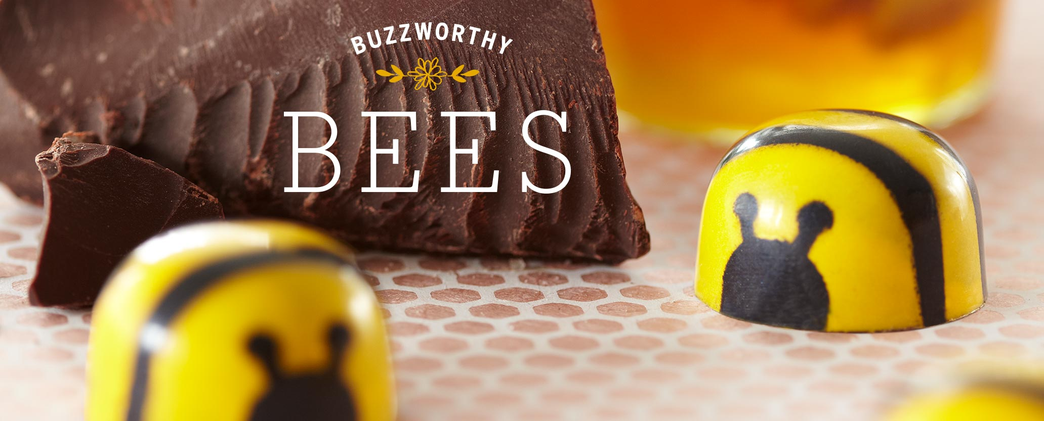 Honey Caramel Chocolate Bees