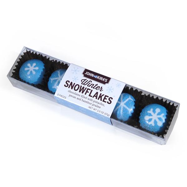 Praline Snowflakes 5pc