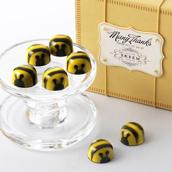 Custom - Honey Caramel Bees 16pc