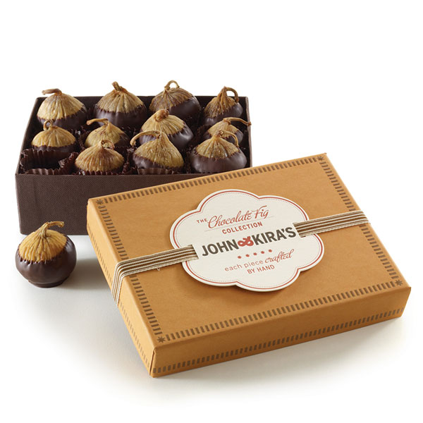 Chocolate Covered Figs 12pc John And Kiras Chocolates