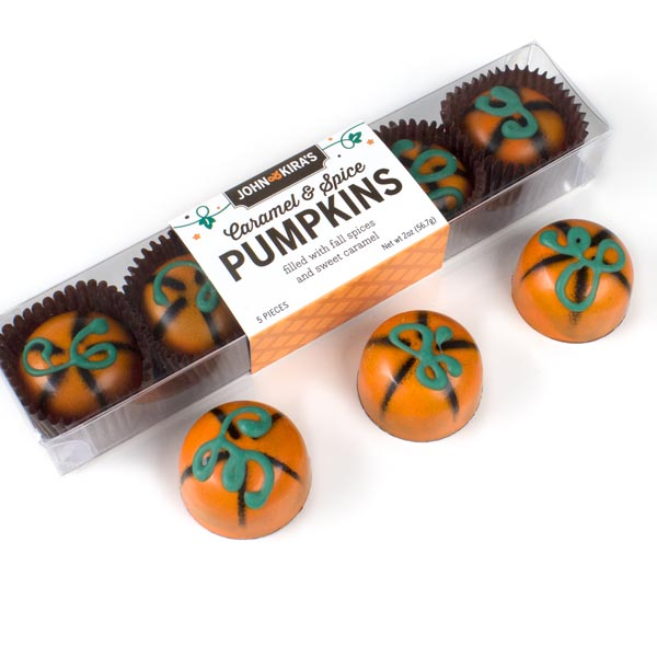 Chocolate Pumpkins 5pc