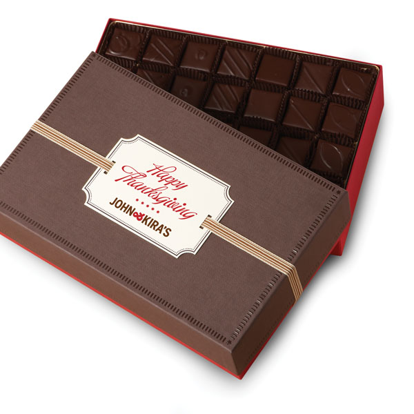 Every Flavor Chocolates 56pc Happy Thanksgiving