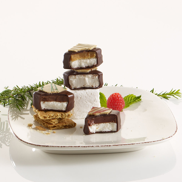 Holiday Marshmallow on plate