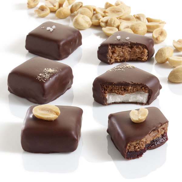 Peanut Butter Chocolate Trio