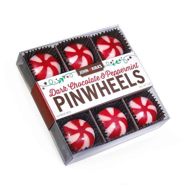 Peppermint Pinwheels 9pc