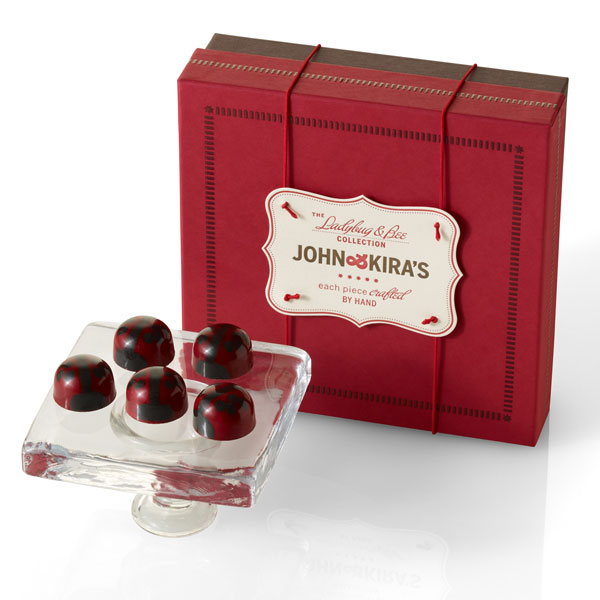 Dark Chocolate Ganache Ladybugs 16pc