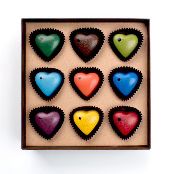 Chocolate Sweethearts 9PC