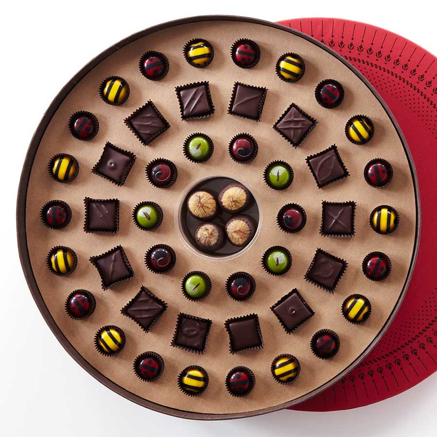 Chocolates - Palette du Chocolat - John and Kira's