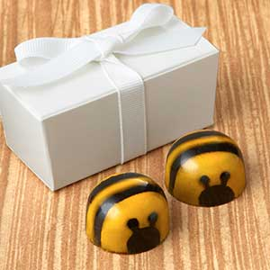 Chocolate Bee Favor 2pc: Choice