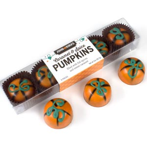 Caramel Pumpkins 5pc