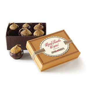 Chocolate Figs 6pc - Thank You