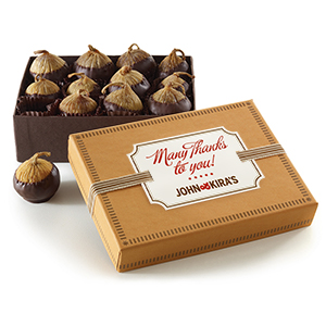 Chocolate Figs 12pc - Thank You