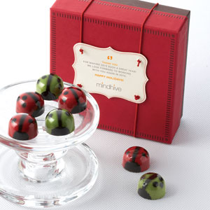 Holiday Ladybugs 9pc - Business