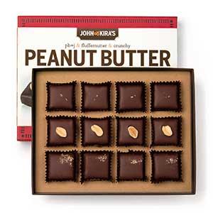 Peanut Butter Chocolate Trio