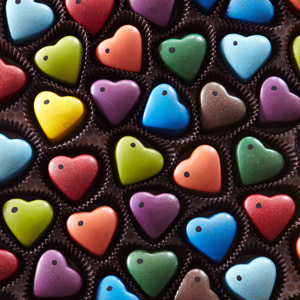 Chocolate Sweethearts Colors
