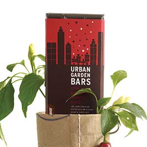 Urban Garden Chocolate Bar - Chili Pepper