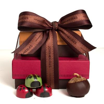 Holiday Ladybug + Fig Tower