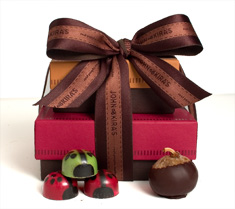 Holiday Ladybug + Fig Tower
