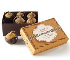 Chocolate Figs 6pc