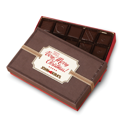 Every Flavor Chocolates 15pc - Very Merry Christmas