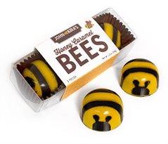 Caramel Bees 3pc