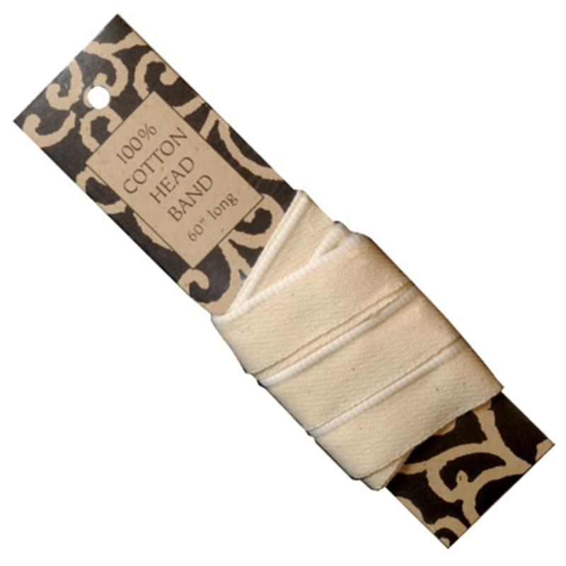 Ivory Headband 60 inch