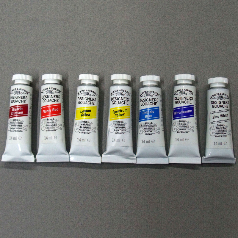 W&N Gouache: Double Primary Set