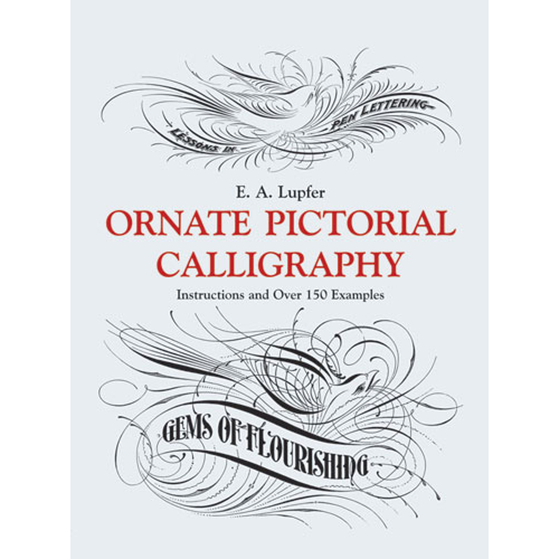 Ornate Pictorial Calligraphy / Lupfer
