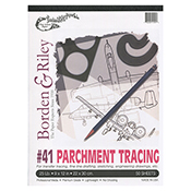 Borden & Riley Tracing Pad #41