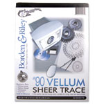 Borden & Riley Tracing Vellum Pad #90