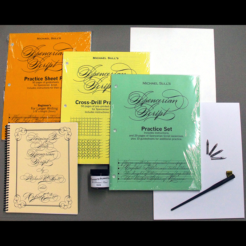 Spencerian Penmanship Instructional Kit