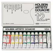 Holbein Set of 12 Gouache, 5ml