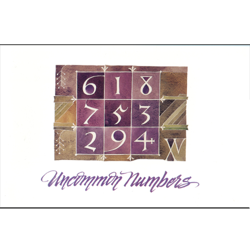 Uncommon Numbers: A Source Book...