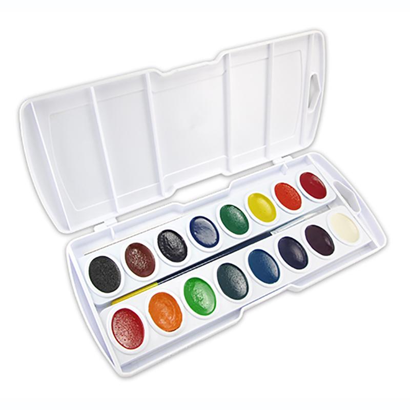 Prang Watercolor Set (16 half pans)