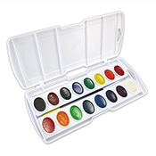 Prang Watercolor Set (16 half pans)