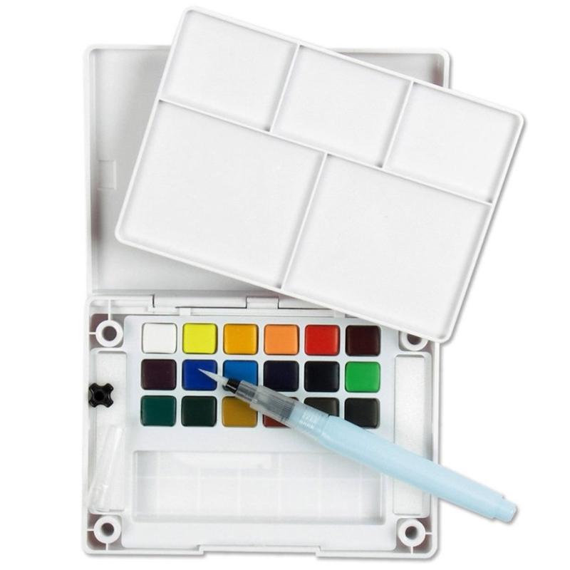 Koi Watercolor Travel Set (18 color)