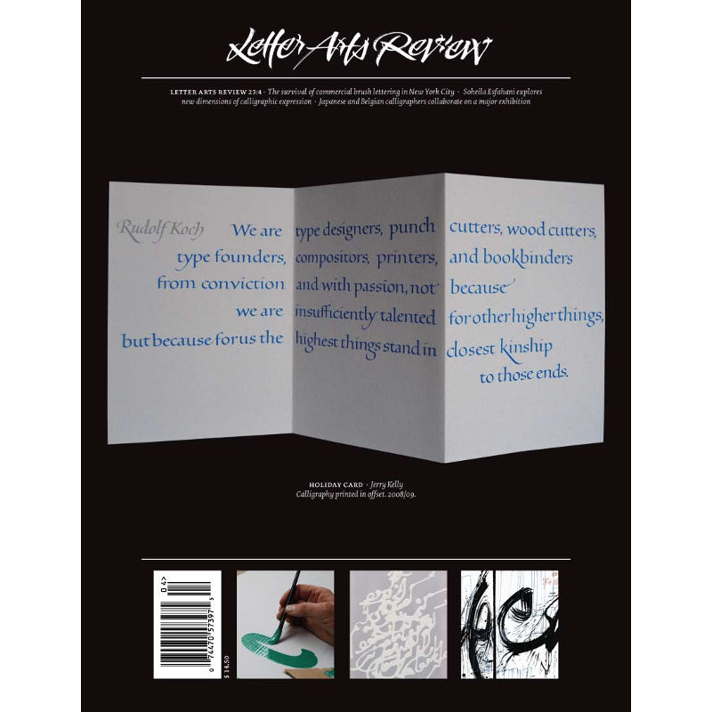 Letter Arts Review Vol.23, No.4