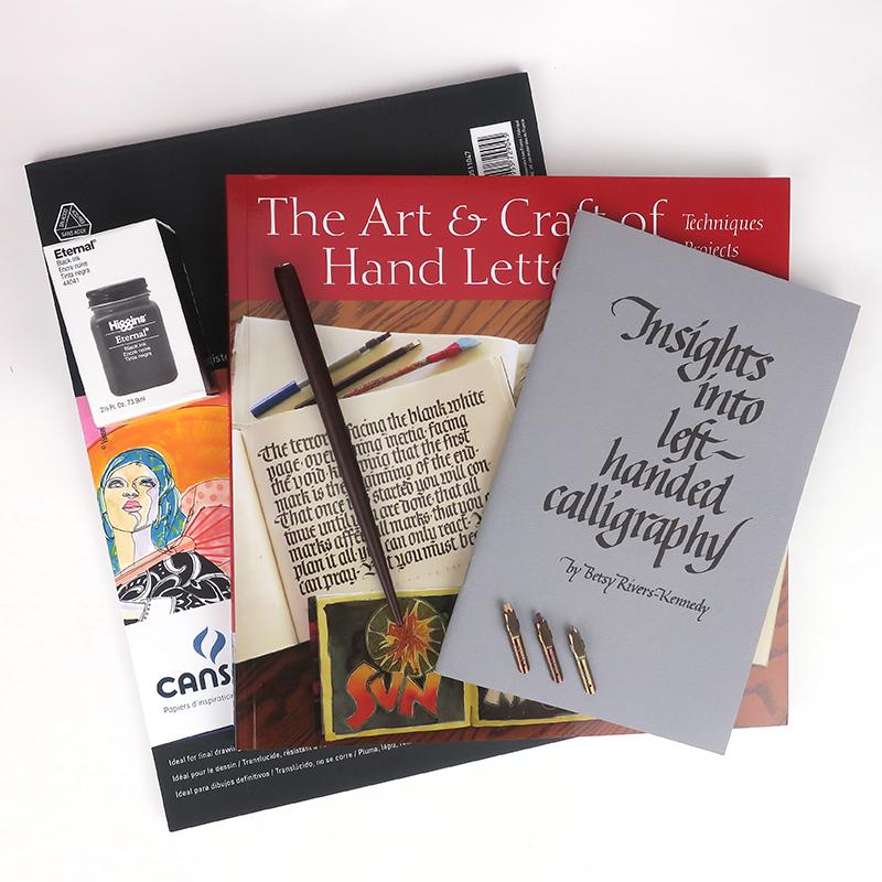 Calligraphy Dip Pen Beginner's Set - Left Handed