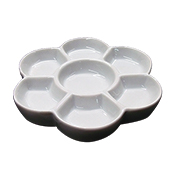 Porcelain Blossom Dish Palette