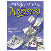 Set of 4 Parallel Pens and Book