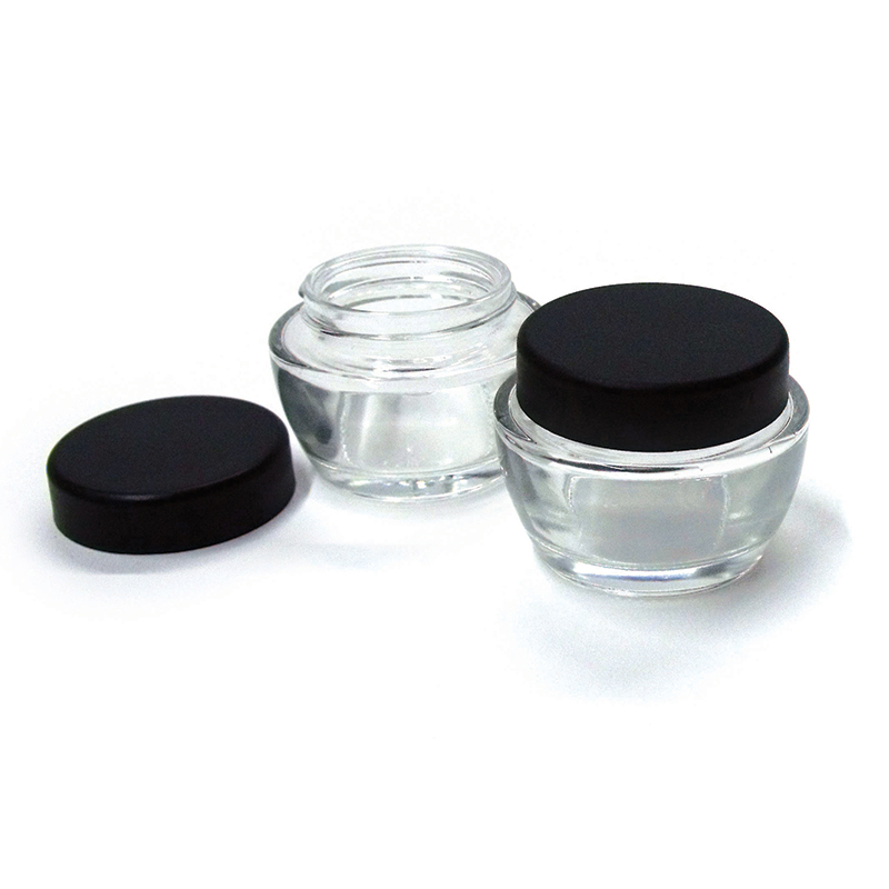 Low-Profile Glass Ink Jar