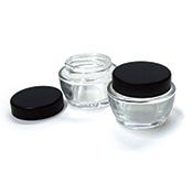 Low-Profile Glass Ink Jar