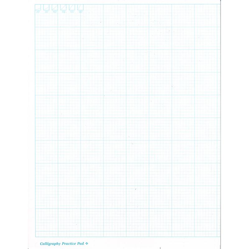 JNB Graph Pad 8.5x11 inch