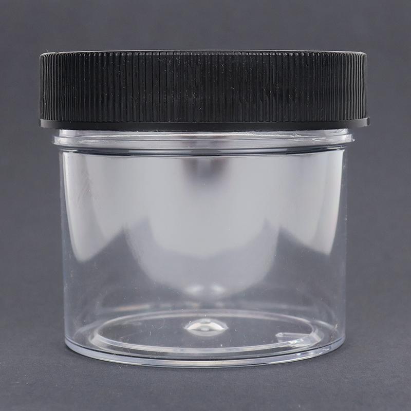 2-ounce Clear Plastic Jar
