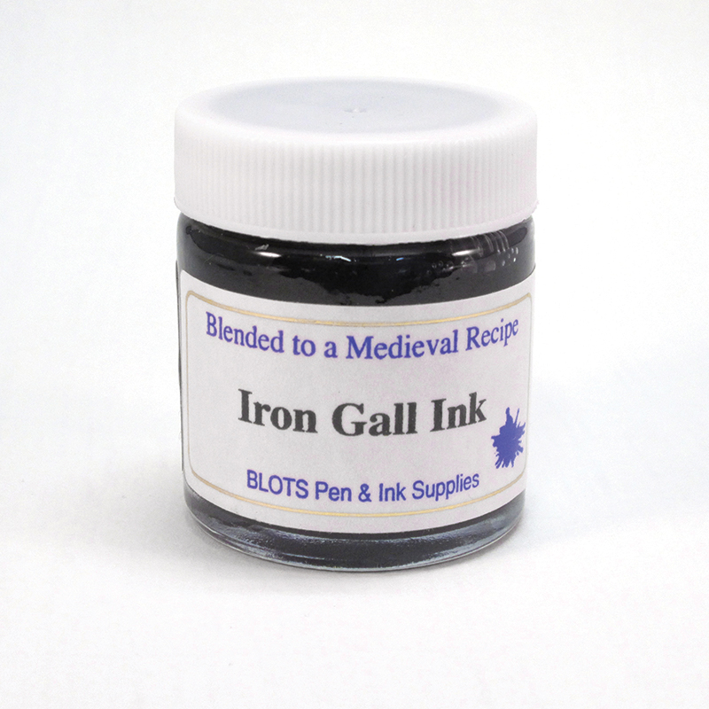 Blots Iron Gall Ink