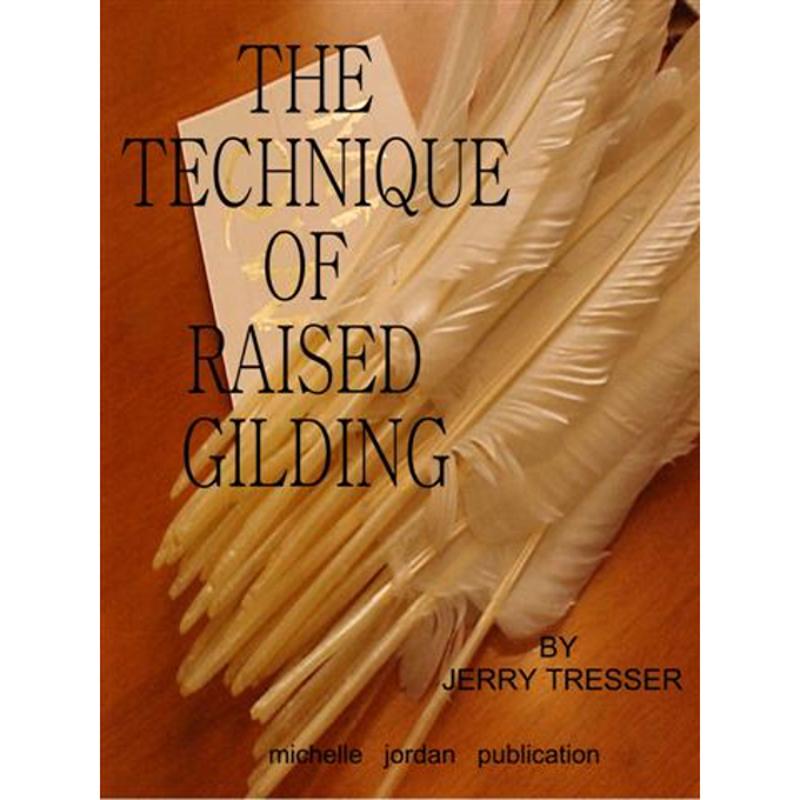 Technique of Raised Gilding (CD PDF Book)