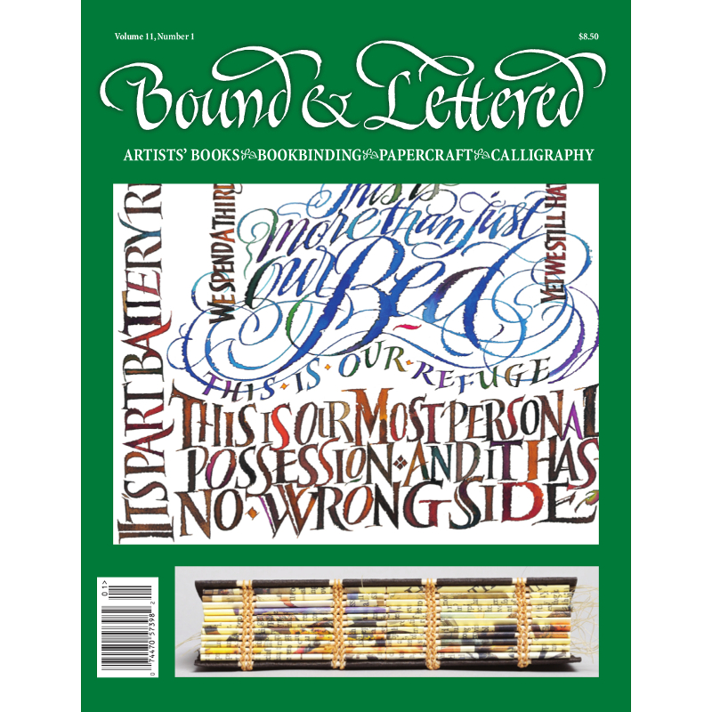 Bound & Lettered Vol.11, No.1