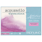 5x7 Fabriano Artistico Watercolor Block