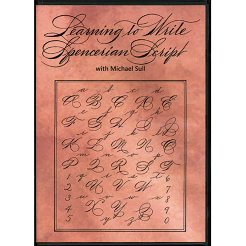 Learning to Write Spencerian Script DVD