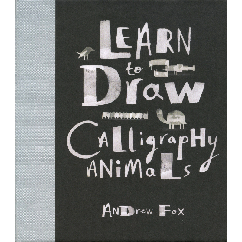 Learn to Draw Calligraphy Animals / Fox
